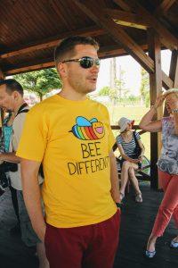 Bee different... bee happy!