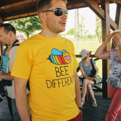 Bee different... bee happy!