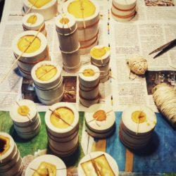 warsztaty z odlewania świec woskowych