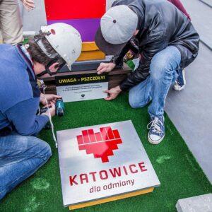 Pasieki miejskie miasta Katowice